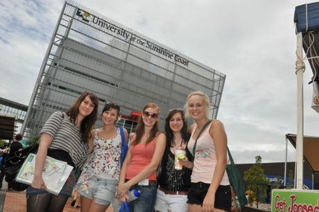 Orientation Week starts Tuesday at the University of the Sunshine Coast. 