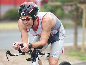 Triathlete Cameron Brown will be looking for his 11th victory this year.