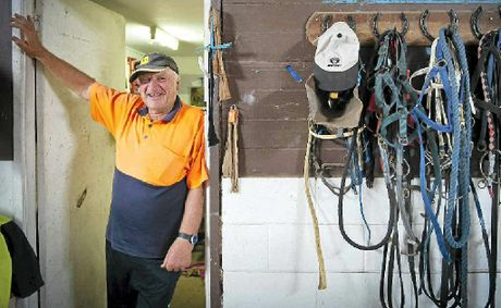 Coffs Harbour trainer Jim Jarvis is hoping Spiritist can go back to back when he lines up at Grafton today. PHOTO: ROB WRIGHT