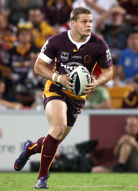 Dale Copley of the Brisbane Broncos.