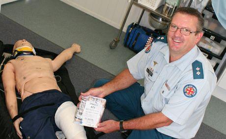 First Aid A Lifesaver Gladstone Observer
