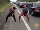 Bruce Hwy dance goes viral