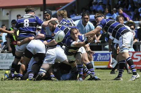 TOUGH: Rugby was linked to 43 Wanganui ACC claims last year. PHOTO/FILE