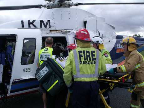 Two motorcyclists were airlifted by Northland Electricity rescue helicopters after a crash near Waipu on SH1.