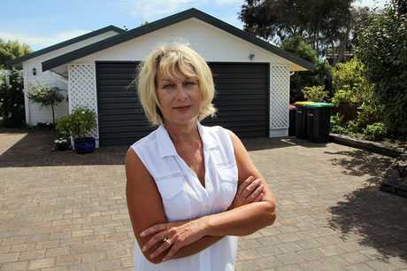 ANGER: Parklands resident Chris Brydon doesn't want a sewerage tank installed on her green zoned Pinaster Place property.