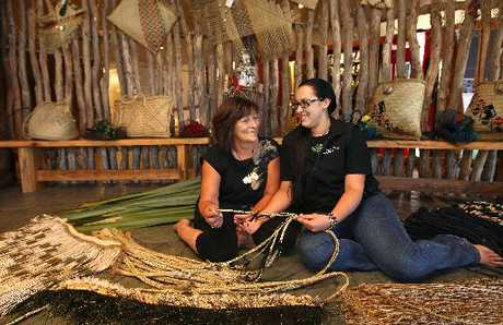 Donna Waiariki and her daughter Tia have been busy behind the scenes working on costumes for Te Matatini.