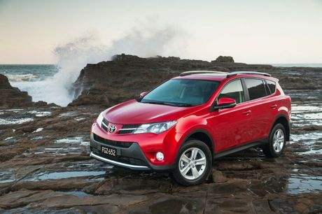 The Toyota RAV4&#39;s range topping Cruiser model. 