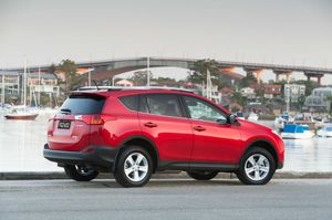 The Toyota RAV4. 