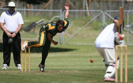 TOP FORM: Mount Maunganui bowler Tony Goodin took another five wicket bag for Bay of Plenty against Poverty Bay.