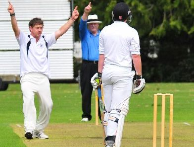 ON FIRE: Quintin McKenna claimed eight wickets for Greytown.