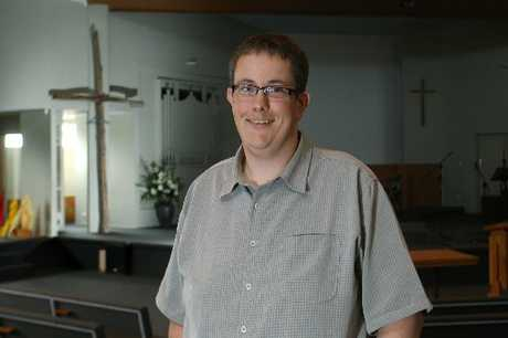 VISIONARY: Reverend Nigel Irwin is the new senior pastor at the Wanganui Central Baptist Church and sees the church having a significant role in the community.PHOTO/BEVAN CONLEY