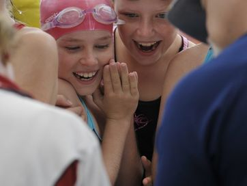 The city's best young swimmers battled it out at Bundamba Aquatic Centre for the annual Ipswich primary schools carnival