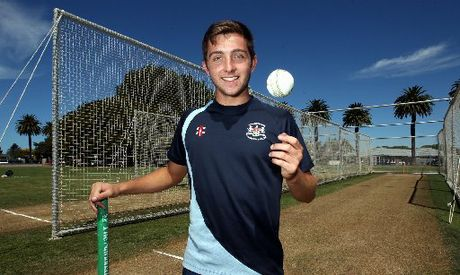Matt Taylor relished bowling out England captain Alistair Cook during net practice at Nelson Park, Napier, yesterday.