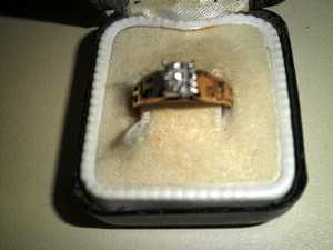 Another stolen ring.