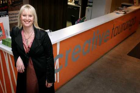 Creative Tauranga Chief Executive Tracey Rudduck-Gudsell.
