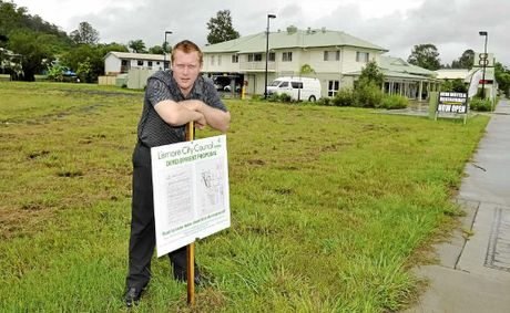 GROWTH: Manager of the Lismore Gateway Motel Luke Carter is excited about the planned extensions.