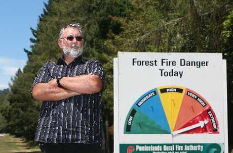 Rural fire officer Paul Wright