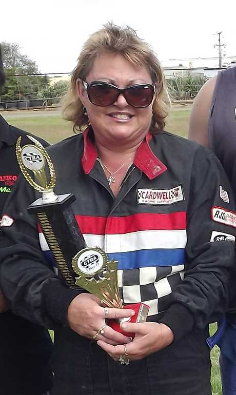 NOW NUMBER ONE: Didi Roycroft won the CTRA NZ Ladies Standard Production Saloons Championship at Dargaville in her trusty Nissan Skyline on Sunday.