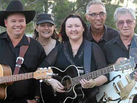 CROWD HIT: Windera Music Muster feature group, the Lindsay Butler Band, including (from left) Ashley Cook, Peggy Gilchrist, Shaza Leigh, Gran Gunnourie and Lindsay Butler.