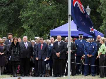 Around a thousand people took the opportunity to attend a Civic Memorial Service held in Latimer Square, Christchurch to commemorate the second anniversary of the Canterbury Earthquake which occured on 22 February 2011