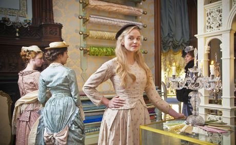 Denise (Joanna Vanderham) in a scene from the delightful The Paradise on Saturday nights.