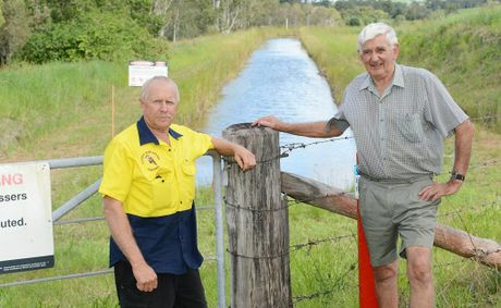 The Pie Creek irrigation scheme is in jeopardy, along with the handful of farmers who, like Mick Sims and Phil Montgomery, still rely on it.