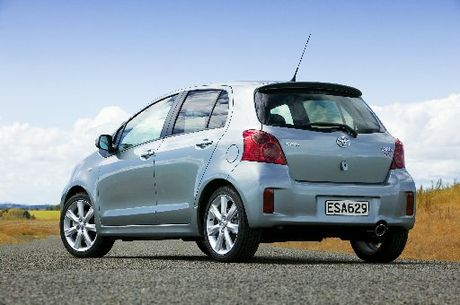 The Toyota Yaris