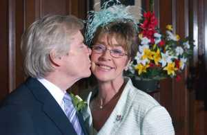 ROMANCE: Actress Anne Kirkbride's character Deirdre has proved the most enduring of Ken Barlow's romances, with the pair marrying twice over the years.