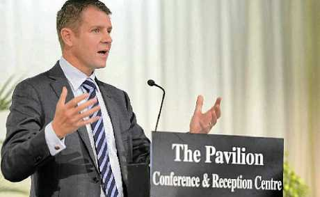 NSW Treasurer Mike Baird addressed yesterday's Mayoral Prayer Breakfast which drew a crowd of 700 to the Pavilion.