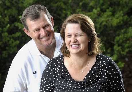 NEW PATHS: LNP candidate for Blair Teresa Harding with her husband, Steven Voll.