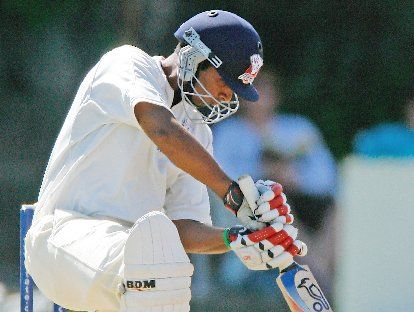 Jeet Raval scored a century in a potentially Plunket Shield-winning innings yesterday.