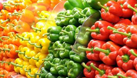Capsicums / Peppers can be divided into different taste categories