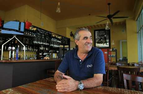 Italian restaurateur Luigi Barattieri has become a popular part of Tauranga's social fabric.