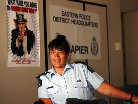 Inspector Tania Kura, the Hawke&#39;s Bay&#39;s first female police commander.