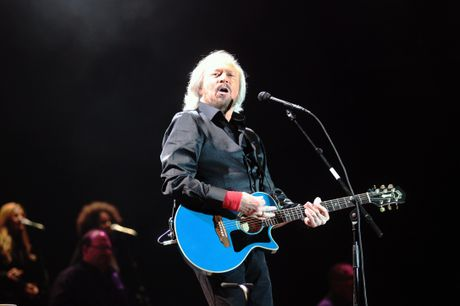 Barry Gibb proved a hit at the Mission concert.