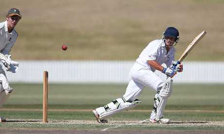 MILESTONE INNINGS: Wicketkeeper/batsman Tim Clarke made his highest score in his 25th game for Bay of Plenty against Canterbury Country.