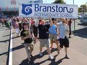 Branston Intermediate School is not accepting Hekia Parata's interim decision last week to close it as the last word on the school's future.