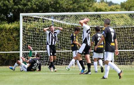 FLASHBACK: Hawke's Bay United may have rued missed opportunities at home but it was a different story away on Saturday.