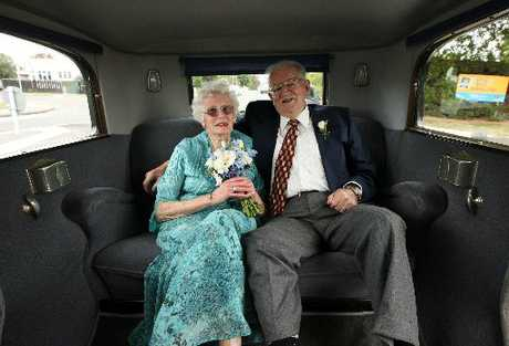 MANY HAPPY YEARS: Ray and Merlyn Jarden celebrated their 60th wedding anniversary in style recently.
