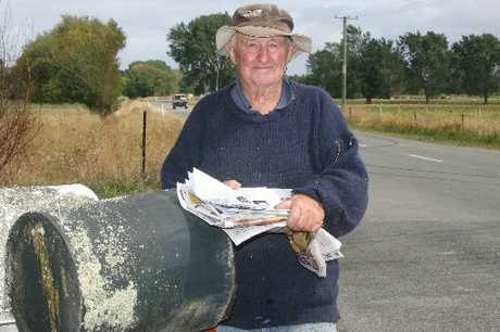 RURAL STRIFE: Kopuaranga farmer Roddy McKenzie believes proposals like the three-day-a-week postal idea are being considered by people in offices who don't understand rural life.