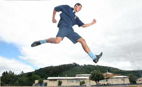 Talor Kahu, 17, has broken the Western Heights High School high jump record held by former All Black Caleb Ralph since 1996.