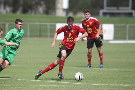 Ryan Smith in action for the Fire