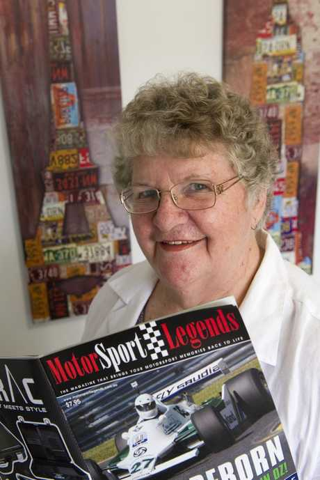 Elaine Pampling is the first female president of the Toowoomba Auto Club.