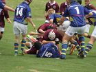 The Under-14, 15 and 17 Wheatmen battled it out at home on the weekend in Round 2 of the Downs Rugby competition.