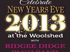Come and enjoy the New Year at the Woolshed at Jondaryan with the Ridgee Didge Bush Band! Only 30 minutes from Toowoomba and Dalby! Gates open 5pm.