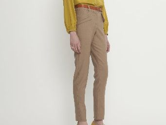 Juliette Hogan Flat Front Trouser, $369