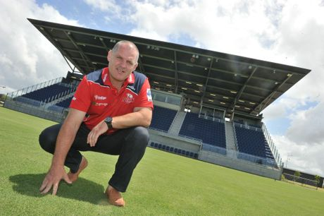 Queensland Reds director of coaching Ewen McKenzie.