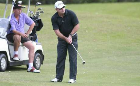 David Champman at the Pat O&#39;Driscoll / Tropical Auto Group Pro Am at the Capricorn Resort Golf Course. Photo Chris Ison / The Morning Bulletin.