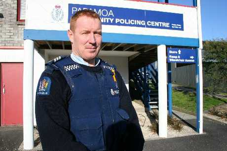 Sergeant Phil Gillbanks at Papamoa police station.