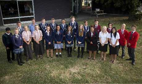 Members of the Hawke's Bay Secondary Schools High Performance Academy. Photo / John Cowpland, Alphapix